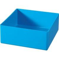 Plastový box Alutec 622300, 108 x 108 x 45 mm, modrá