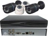 Kamerový systém 720P JW104K-CR5 (DVR+4kamery CMOS) DOPRODEJ