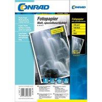 Conrad fotopapír A4,100g,100listu mat