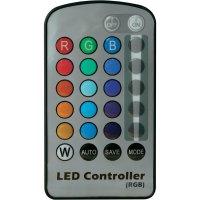 LED žárovka Mueller E27, 6W, RGB s dálkovým ovládáním