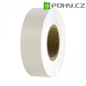 Izolační páska HellermannTyton HelaTapeFlex 15, 710-00127, 19 mm x 25 m, bílá