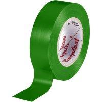 Izolační páska Coroplast, 302, 15 mm x 25 m, zelená