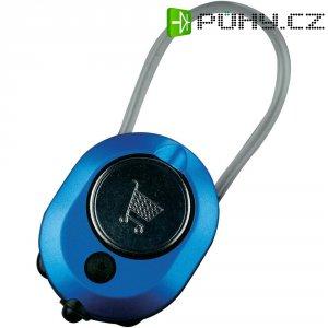 Přívěšek na klíče se svítilnou a žetonem AmperCell Shopper 3v1, 02861, 3 V, modrá