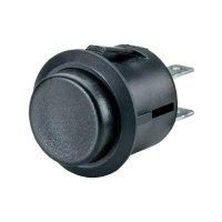Tlačítkový spínač R13-527B-02 černý