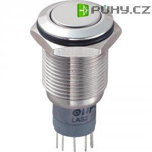 Tlačítkový spínač antivandal TRU Components LAS2GQF-11Z/S/P, 250 V/AC, 3 A, 1 ks