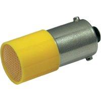 LED žárovka BA9s CML, 18824122, 110 V, 0,4 lm, žlutá