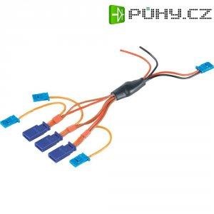 Napájecí kabel Modelcraft, 3 serva, 3 kanály, Futaba