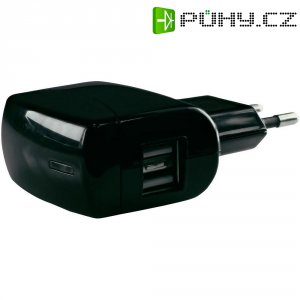 USB nabíječka HN Power HNP-USBAC-DUO, 2x USB