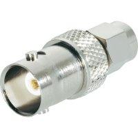 SMA zástrčka / BNC zásuvka BKL Electronic 409033, 50 Ω, adaptér rovný