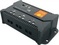 Solární regulátor PWM CARSPA ENS12/24-15 12V-24V/15A, DOPRODEJ