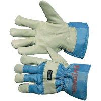 Zateplené kožené pracovní rukavice s 3M-ThinsulateTM podšívkou, velikost 11