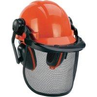 Lesnická ochranná helma Einhell BG-SH 1, 4500480, černá/oranžová