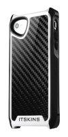 Itskins Fusion Carbon Core - iPhone 5 - černo-bílé