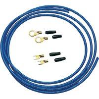 Sada kabelu a zástrček pro autobaterii Sinus Live BK-6M, 6 mm², 2 m