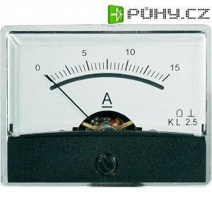 Analogové panelové měřidlo VOLTCRAFT AM-60X46/15A/DC 15 A