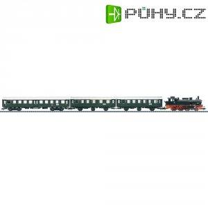 Startovací sada H0 osobního vlaku a parní lokomotivy řady 74 Trix T21518