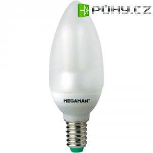 Úsporná žárovka svíčka Megaman Ultra Mini Candle E14, 5 W, teplá bílá
