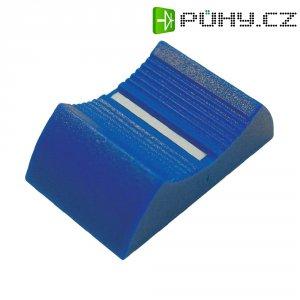 Knoflík na posuvný potenciometr Cliff CP3340, CS9, 6-8 mm, modrá