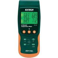 Dvou/čtyřkanálový teploměr Extech SDL200, ukládání naměřených dat na SD kartu, -199 až +1700 °C