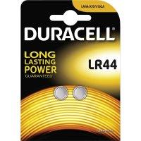Knoflíková baterie LR 44 Duracell AG13, alkalicko-manganová, 2 ks