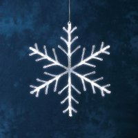 Svíticí LED sněhová vločka Konstsmide