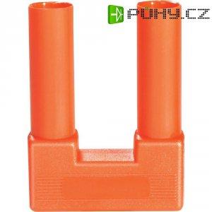 Bezpečnostní zkratovacíkonektor, plně izolovaný SI-FK 19/4 červený