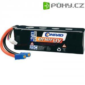 Akupack Li-Pol (modelářství) Conrad energy, 11.1 V, 2200 mAh, 25 C, EC3