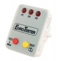 Tester zásuvek EL-EUROTESTER