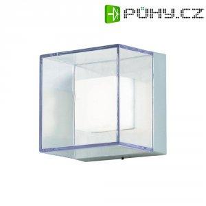 Venkovní nástěnné LED svítidlo Konstsmide 7924-310, 6 W, stříbrná/šedá
