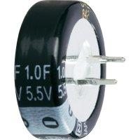 Kondenzátor elektrolytický, 0,1 F, 5,5 V, 30 %, 5,5 x 11,5 mm