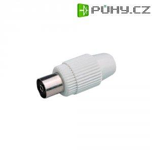 Spojka koaxiálního kabelu, 800302, 7,8 mm, plastová
