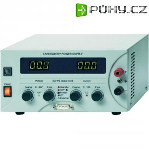 Laboratorní zdroj s nastavitelným napětím EA Elektro-Automatik EA-PS 3032-20B, 0 - 32 V/DC, 0 - 20 A, 640 W