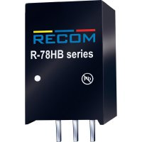 DC/DC měnič Recom R-78HB24-0.3 (80099171), výstup 24 V/DC / 0,3 A, vstup 36 - 72 V/DC