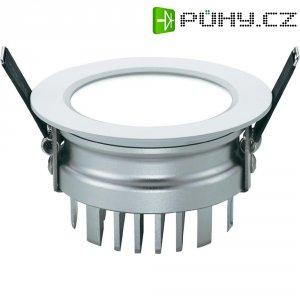 Vestavné světlo LED Downlight Sygonix Prato, 12 W, IP20, hliník, stříbrná/šedá