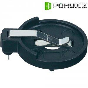 Držák na knoflíkovou baterii CR2016/CR2025/CR2032 KZH1, s pájecími kontakty