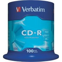 CD-R 80 700 MB Verbatim 43411 100 ks vřeteno