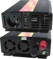 Měnič 24V/230V+USB 300W,čistá sinusovka,CARSPA, na N.D.