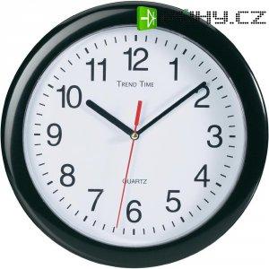 Analogové nástěnné hodiny, EuroTime Quarz, 22221, Ø 25 cm, černá