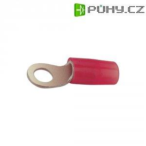Izolované kabelové oko Vogt Verbindungstechnik 3611A, 0,5 - 1 mm², Ø 5,3 mm, červená
