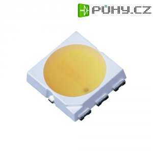 SMD LED PLCC6 LG Innotek, LEMWS52P80LZ00, 60 mA, 2,9 V, 120 °, teplá bílá