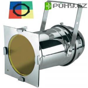 Halogenový reflektor Eurolite PAR 64 Long, 42101000, 500 W, bílá + 4 ks barevných filtrů