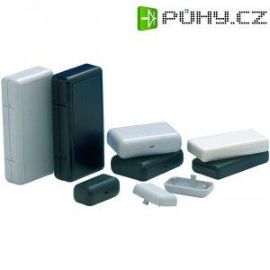 Plastové pouzdro SOAP TEKO, (d x š x v) 80 x 56 x 24,5 mm, černá (10007)