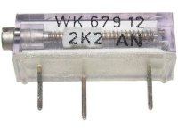 WK67912 - 2k2, cermetový trimr 16 otáček