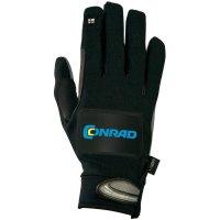 Cyklistické rukavice s integrovaným blinkrem, letní provedení, velikost XS