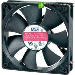 PC větrák s krytem AVC F12025 (š x v x h) 120 x 120 x 25 mm
