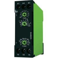 Časové relé multifunkční tele V2ZM10 12-240V AC/DC, čas.rozsah: 0.05 s - 100 h, 1 přepínací kontakt, 1 ks