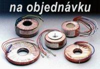 Trafo tor. 120VA 110V/2x15V-4A (100/55)