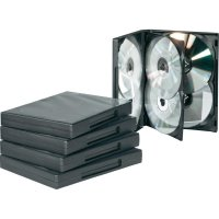 Obal na 6 DVD, DVD5-22B-6, černá