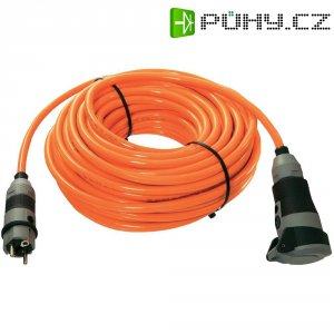 Prodlužovací kabel AS Schwabe, 25 m, 1,5 mm², oranžová