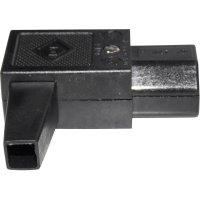 Úhlová IEC síťová zásuvka C15 K+B, 250 V, 10 A, 43R012211